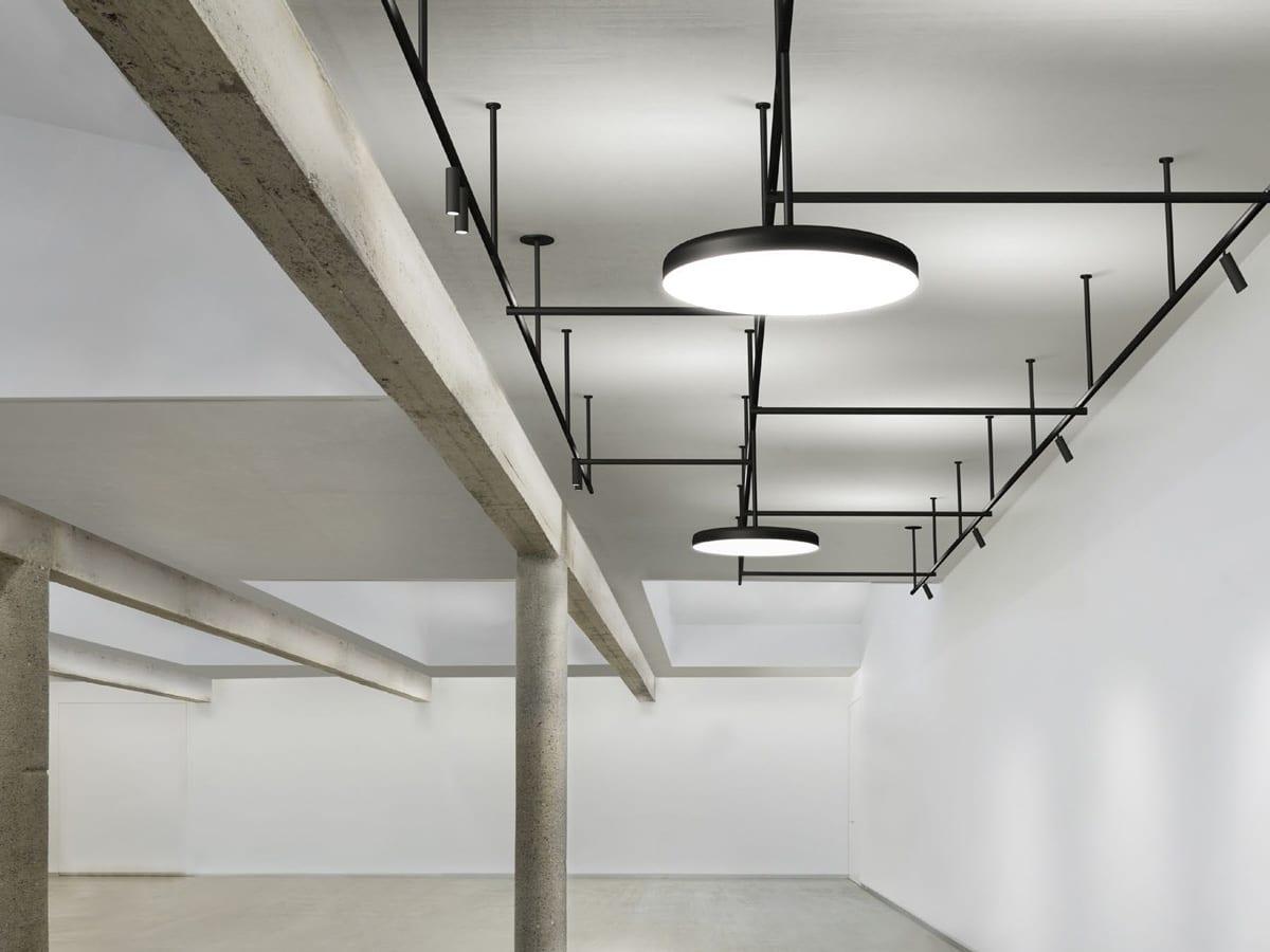 Plafoniere Led Flos : Sistem iluminat arhitectural flos italia sine proiectoare led