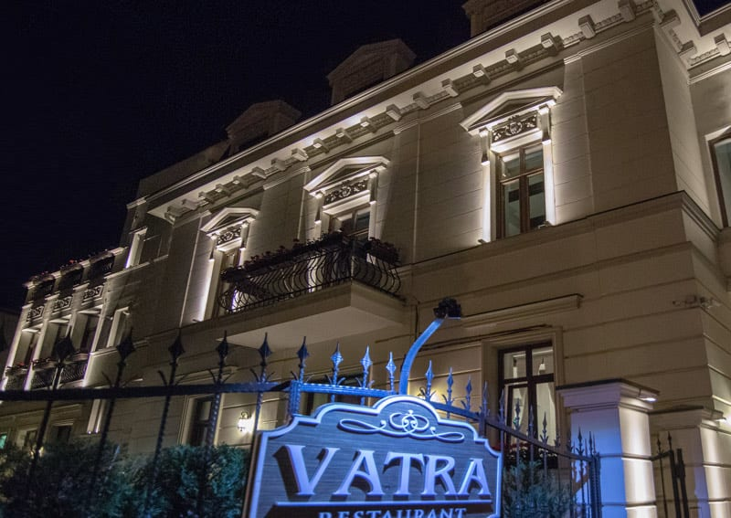 iluminat arhitectural exterior, iluminat fatade cladiri istorice