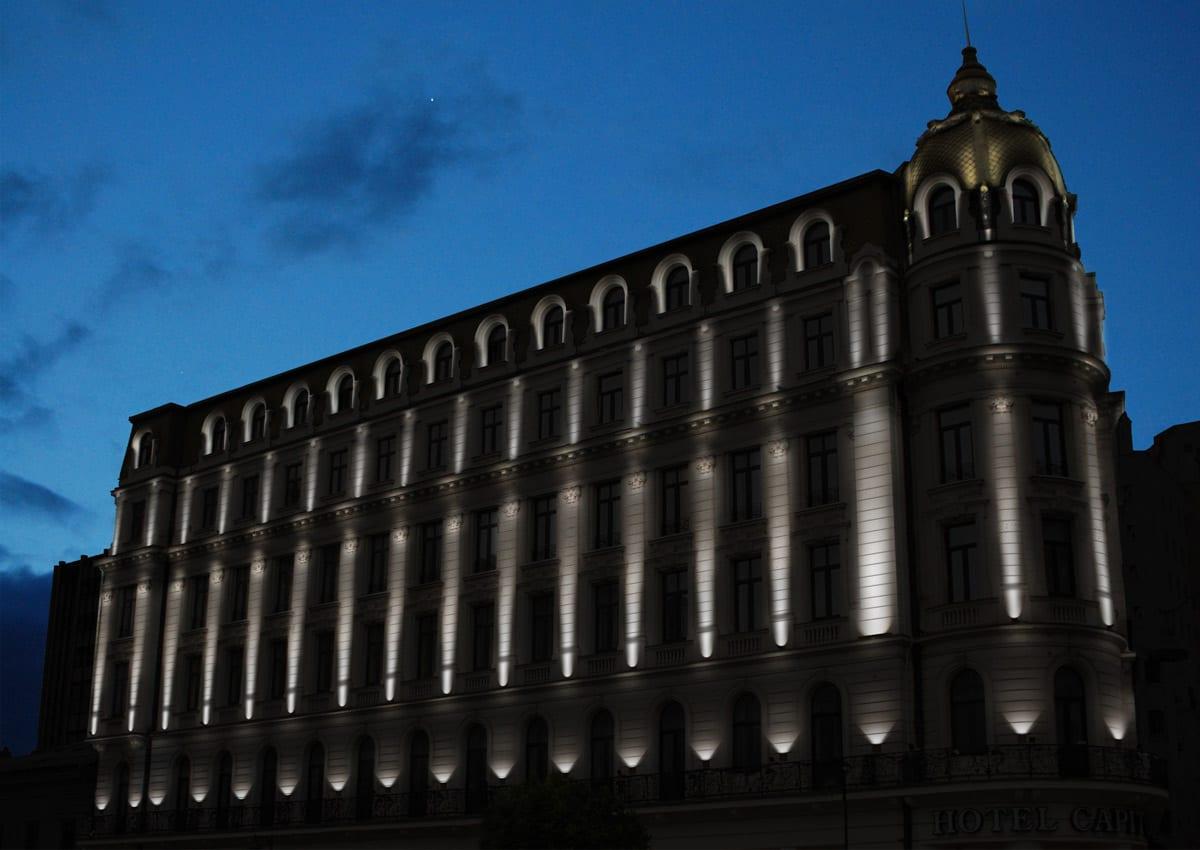 iluminat fatade - iluminat arhitectural exterior