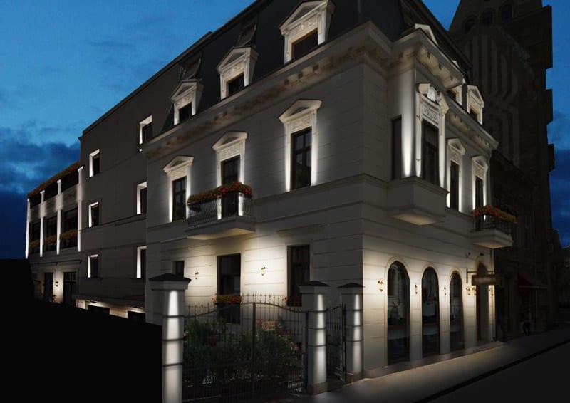 iluminat arhitectural exterior - iluminat fatade