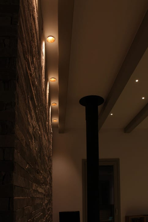 Iluminat arhitectural exterior alee
