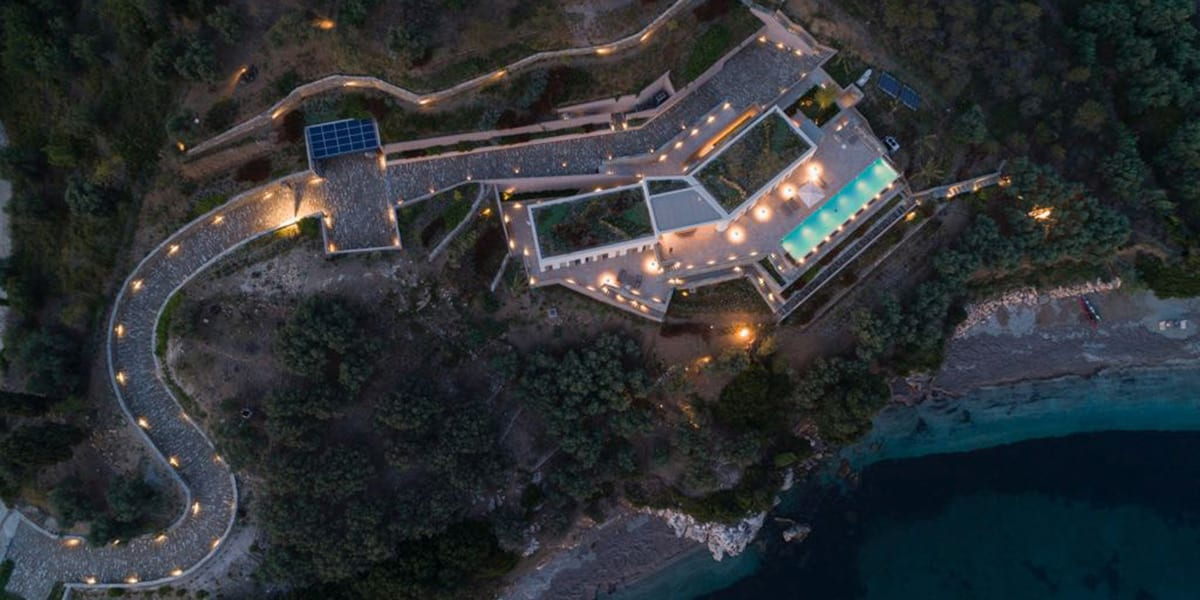 design iluminat vila, iluminat arhitectural