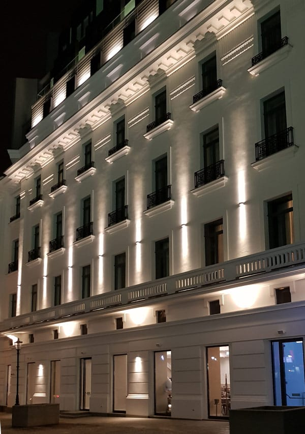 Design iluminat arhitectural