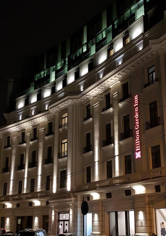 Iluminat arhitectural exterior