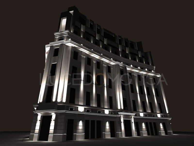 Design iluminat fatade Hilton