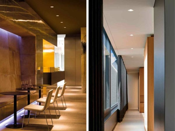 iluminat spatii comerciale, restaurant, office