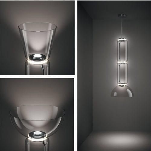 lampi suspendate sticla Flos