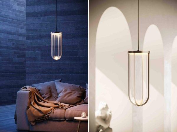 lampi suspendate sticla in vitro design Flos Italia