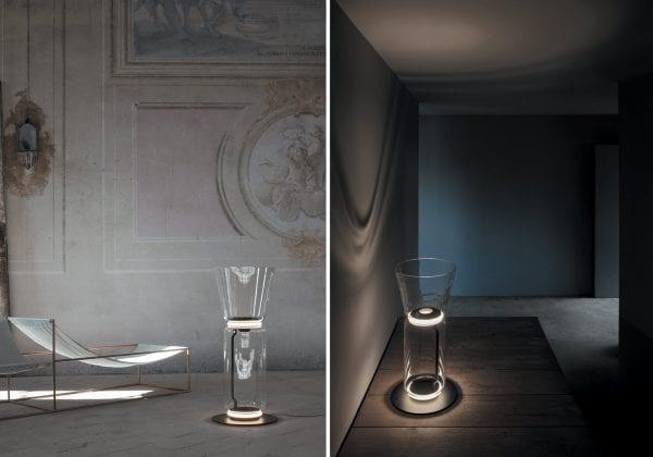 lampadar modern sticla Flos