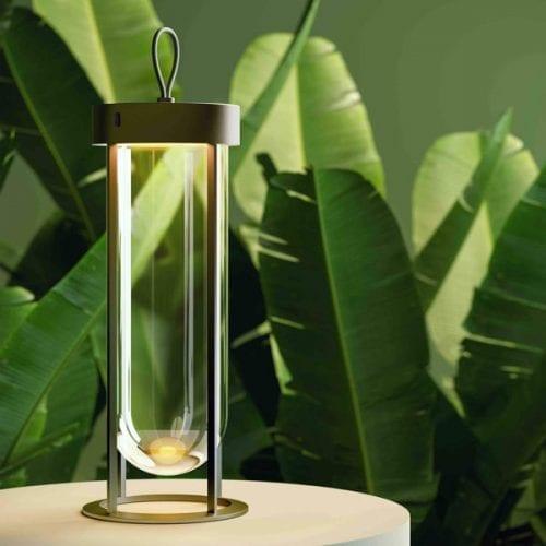 lampa portabila iluminat exterior