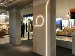 design iluminat arhitectural showroom magazin