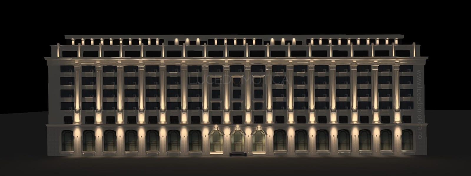 design iluminat arhitectural cladiri