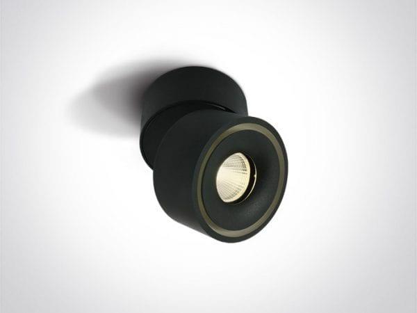 spot orientabil tavan negru