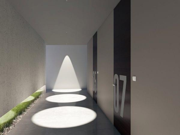 iluminat arhitectural spoturi incastrate led linea light
