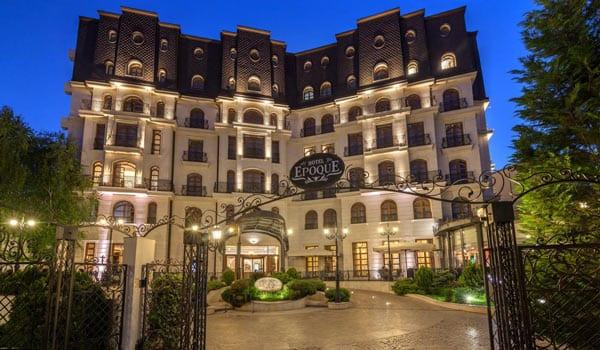 design iluminat arhitectural fatade hotel Epoque