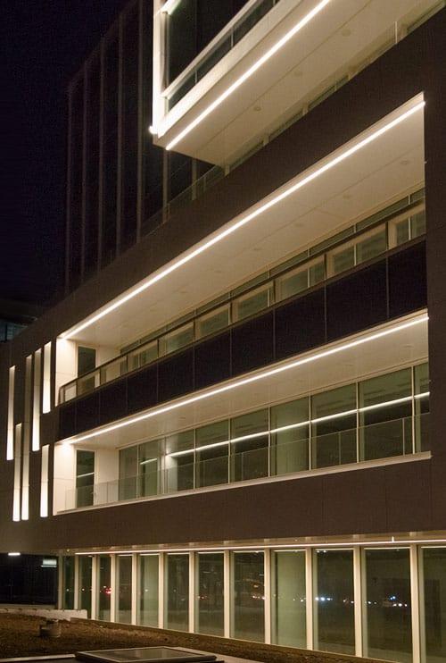 design iluminat arhitectural birouri