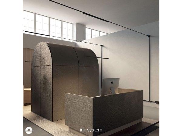 sistem iluminat office