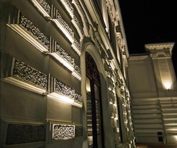 iluminat arhitectural clădiri istorice