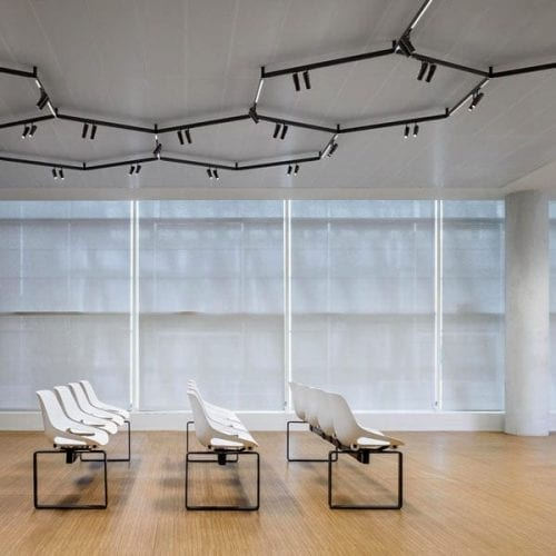 sistem iluminat arhitectural profile spoturi led flos