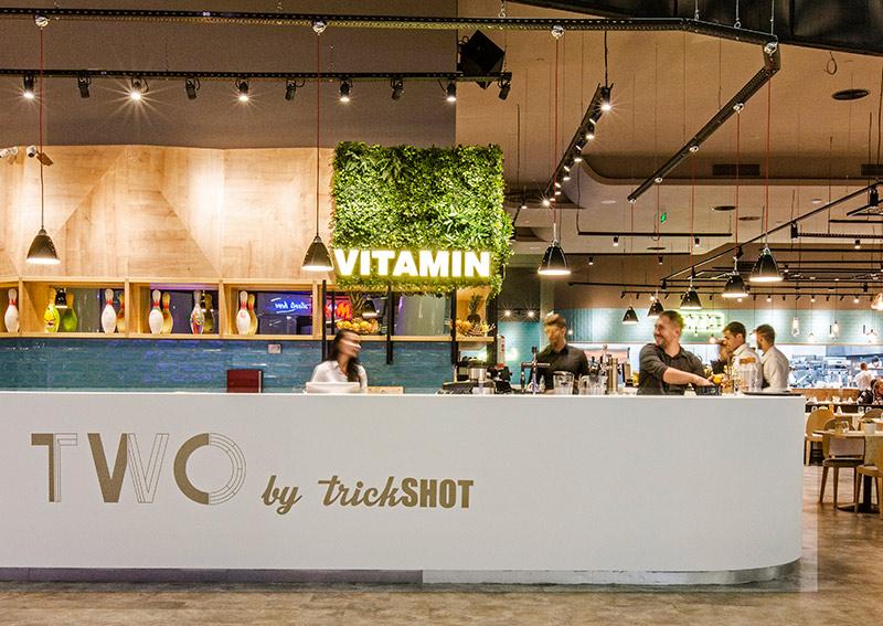 Proiect iluminat restaurant Trickshot