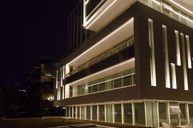 proiectare design iluminat fatade