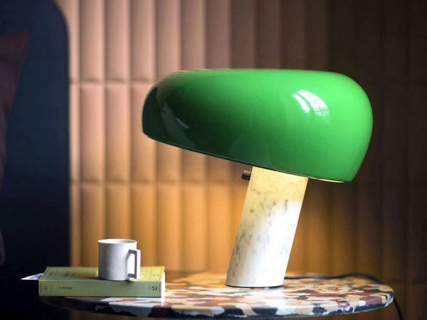 snoopy lampa masa design contemporan flos italia