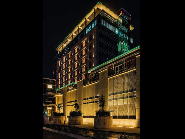 Corpuri iluminat arhitectural fațade clădiri