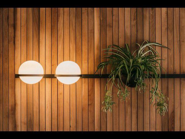 aplice perete palma iluminat decorativ dining vibia