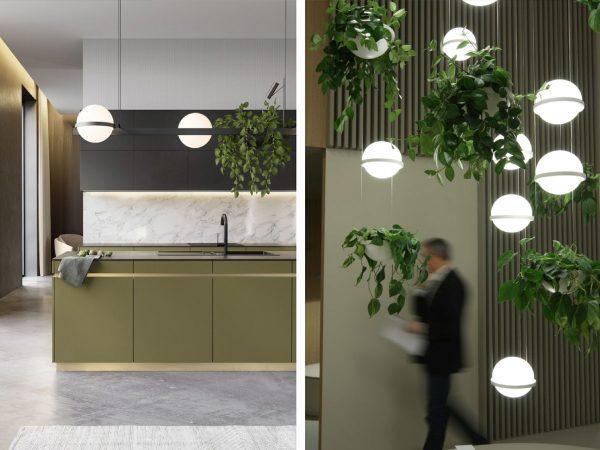 lampi suspendate design Vibia - Palma