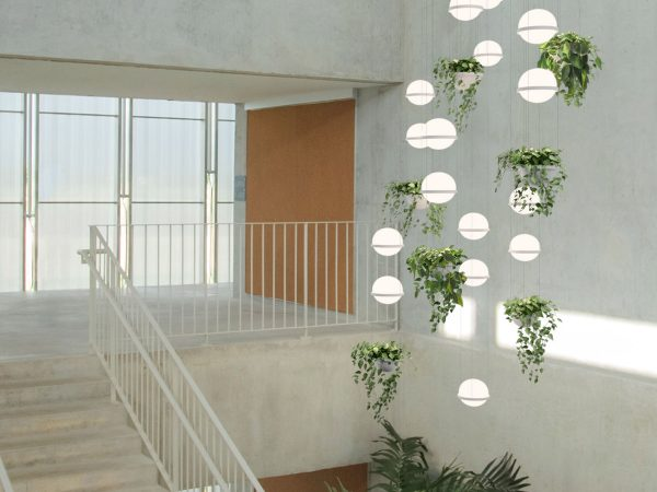 iluminat decorativ casa scarii lampi suspendate palma