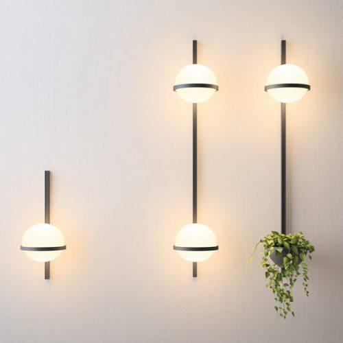 iluminat decorativ living aplice perete palma