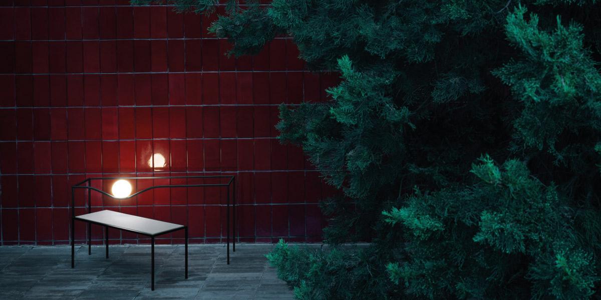iluminat decorativ terasa heco flos italia