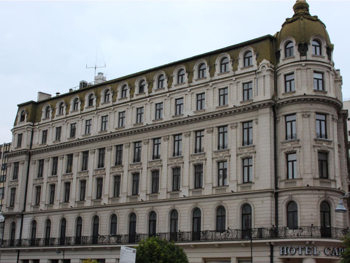 Design iluminat arhitectural fatada cladire istorica