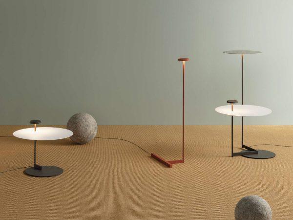 lampa cu masuta Vibia Flat
