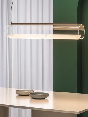 vibia lampa iluminat guise sticla