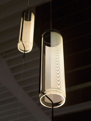 lampa suspendata sticla guise vibia