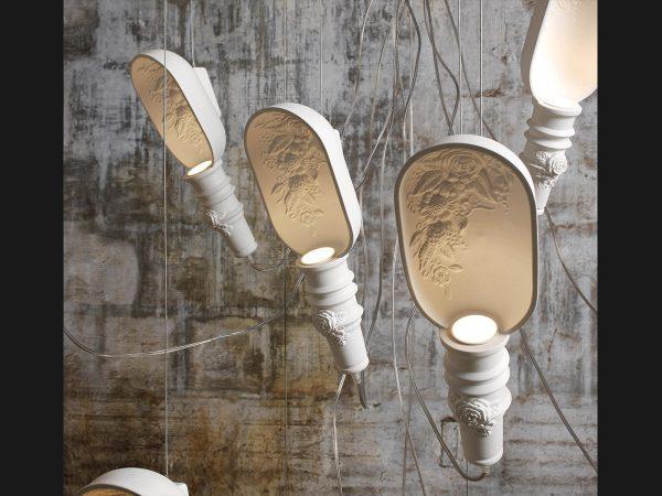 Lampi suspendate design ceramica