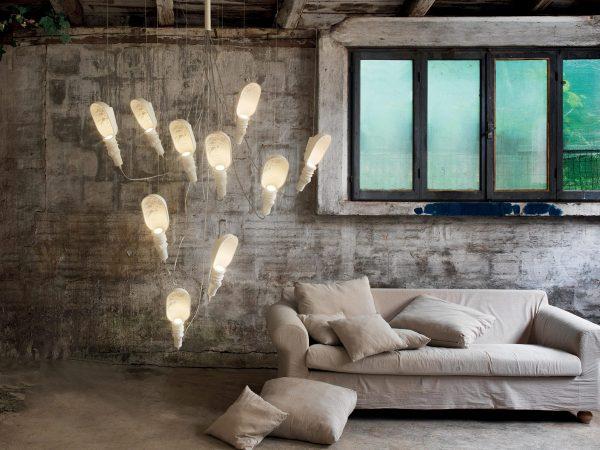 Lampi suspendate design ceramice